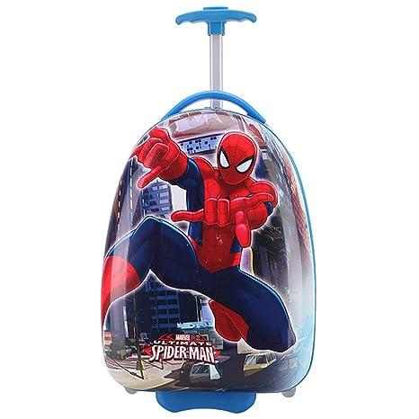 Trolley bambino cartone animato anime spider man custodia per