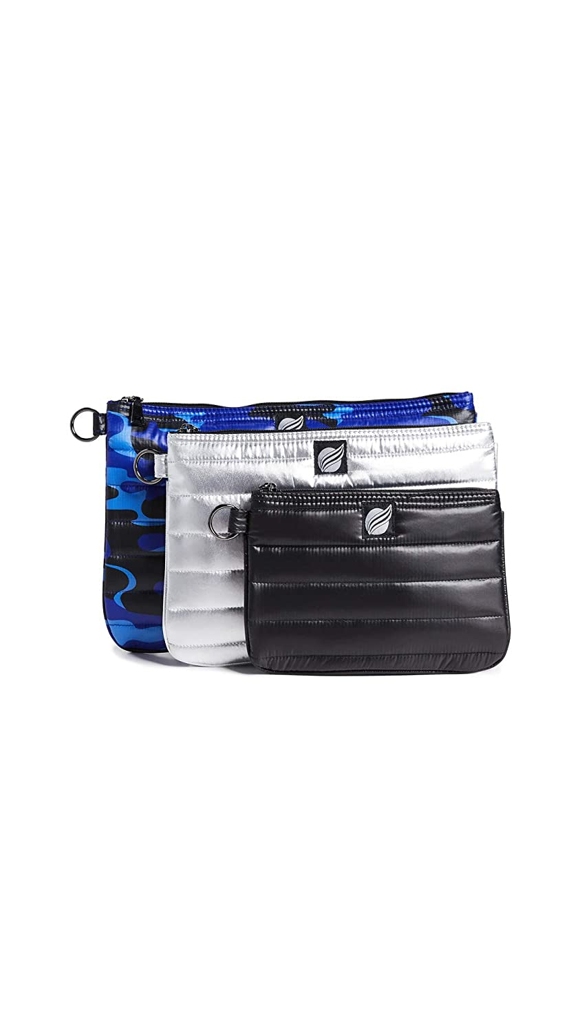 Think Royln Womens 3 Ring Circus Large Pouches Cobalt//Silver//Black One Size Think Royln-Women/'s