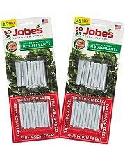 Jobe's 5001T Houseplant Indoor Fertilizer Food Spikes, ( 2 x 50 Pack)