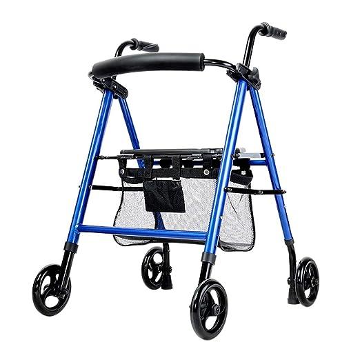 Walker Andadores Ancianos Andador Andador Plegable Ligero Plegable ...