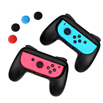 iAmer Grips compatibles Para Nintendo Switch Joy-con: Amazon.es ...