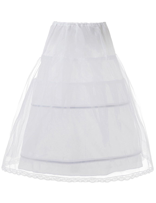 Remedios Mädchen Unterrock weiß weiß LWUKQC140003