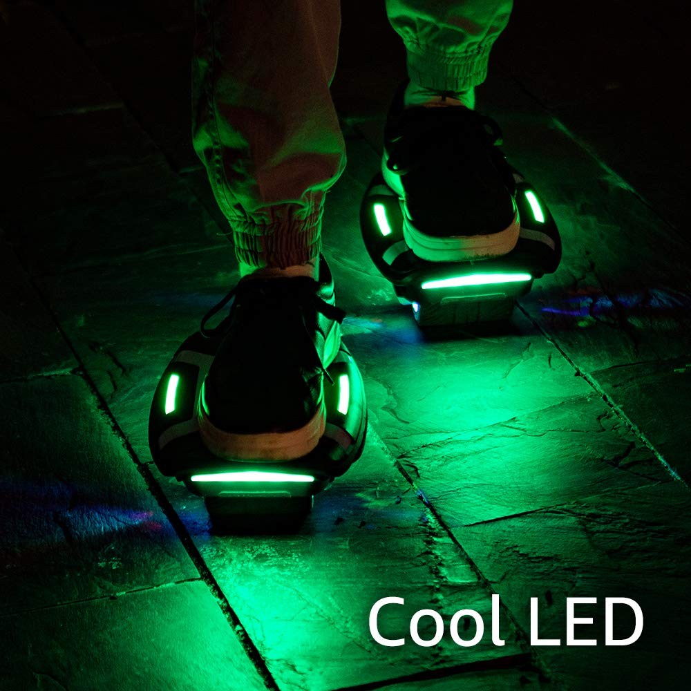 Magic hover Electric Roller Skate Hover Board,300W Dual Motor Self Balancing Scooter for Kids and Adults,Hovershoes Drift X1,3.5 Freeline Skate,12km//h Max Speed Hoverboard