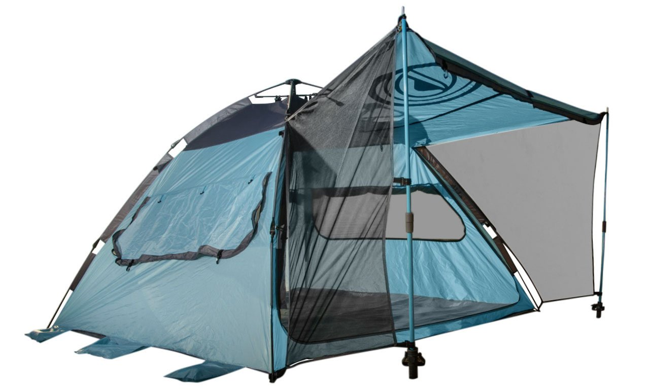 Quick-Up Cabana Style XL Beach Tentu2013 2 in 1 Sun Canopy And Summer  sc 1 st  Outdoorzer.com : simple tent - memphite.com