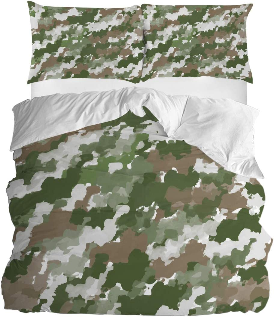 Amazon Com Sun Shine 3 Pieces Bedding Duvet Cover Set Army Green Camouflage Bedroom Decor Super Soft Breathable Quilt Covers And Pillowcases For Kids Teens Adults Men Women Soft Color Home Kitchen,Color Personality Test Blue Gold Green Orange Free