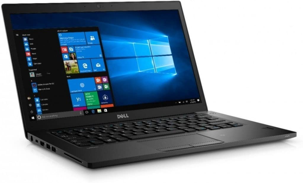 "Dell Latitude 7480 14"" Business Notebook, Full-HD Display, Intel Core i5-6300U 2.4GHz Dual-Core, 8GB DDR4, 512GB Solid State Drive, 802.11ac, Bluetooth, Win10Pro (Renewed)"