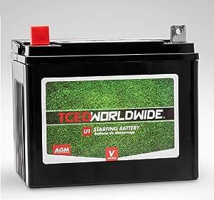 Sealed AGM Battery for CubCadet GT 1554 Lawn Mower Garden Tractor 1yr Warranty