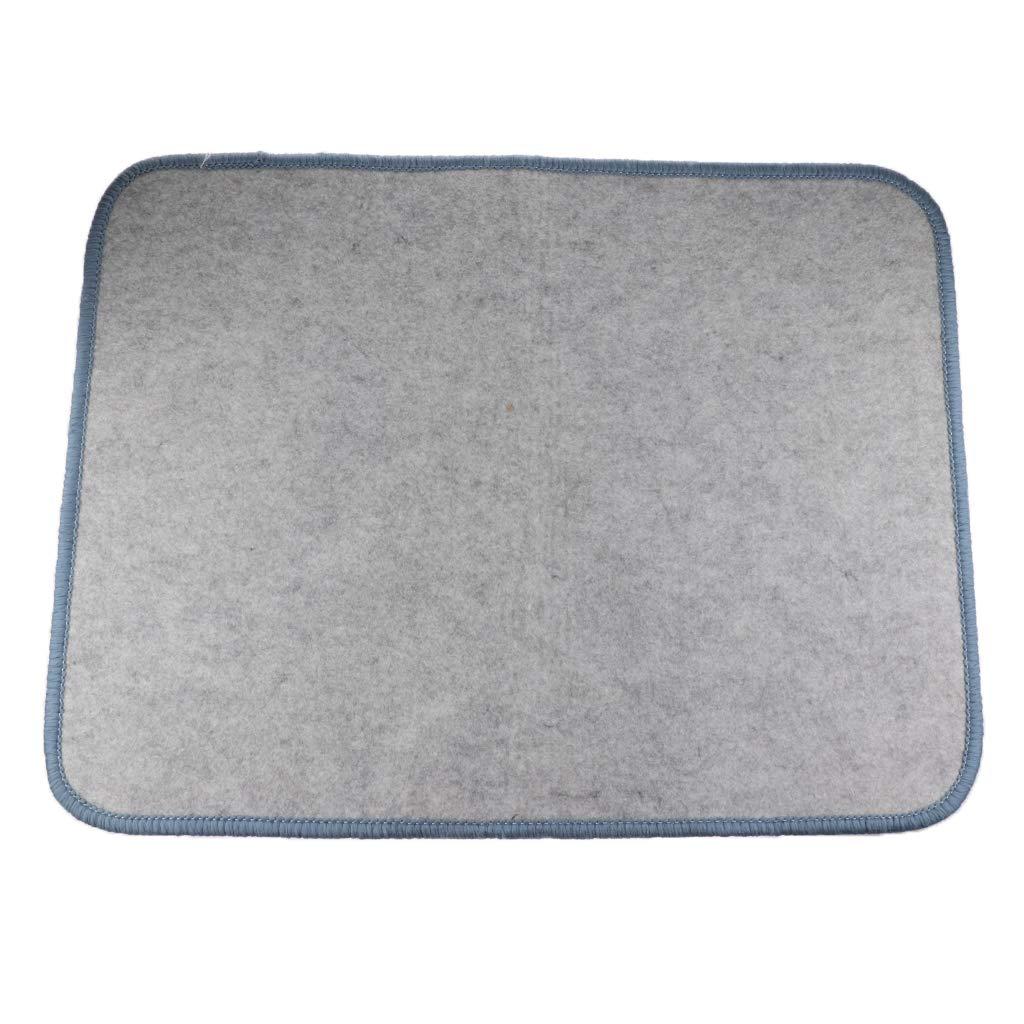 B Blesiya Montessori Kinderteppich Babyteppich Bodenteppich Spielteppich Krabbeldecke f/ür Kinder Baby 80x60cm Blau