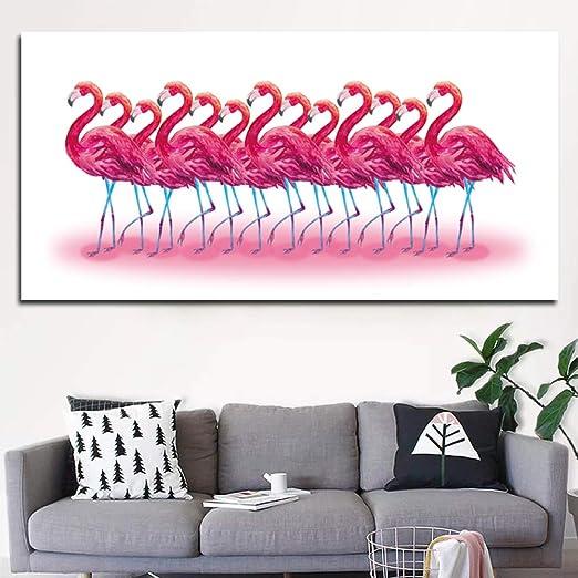 FKSRET Imagen sin Marco Arte de la Pared Pintura Animal ...