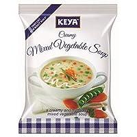 Keya Inst. Soup Creamy Mix Veg, 52g (Four Serve)