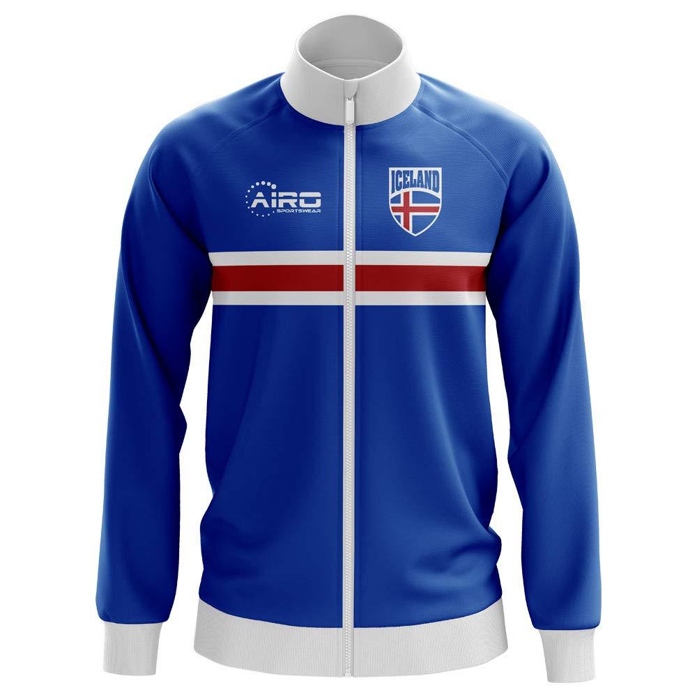 Airo Sportswear Iceland Concept Football Track Jacket (Blau) - Kids