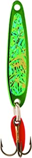 product image for Bay De Noc 6GREEN 2-1/4-Inch Swedish Pimple Jig, 1/2-Ounce, Crushed Ice/Green Ice