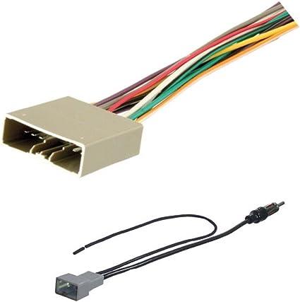 honda crv wire harness amazon com asc audio car stereo radio wire harness and antenna  asc audio car stereo radio wire harness