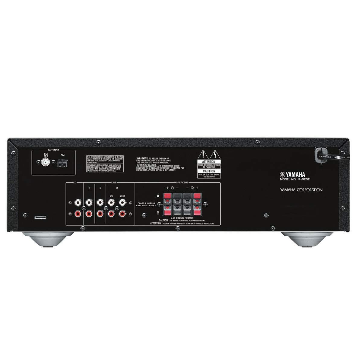 Amazon.com: Yamaha R-S202 - Receptor estéreo Bluetooth con ...