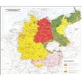 """Landkarte historische Schulkarte Grossdeutschland  /""""Großdeutsches Reich 1942/"""""""