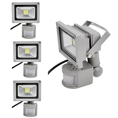 PrimLight 4 pcs 20W SMD Impermeable Reflector del LED,Luz de Seguridad,Proyector Ahorro