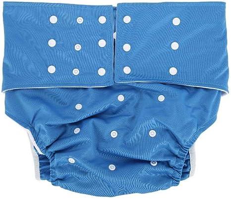 Bycloth Pañal para Adultos Lavable Pañal Bolsillo Cubierta para pañales Tamaño Ajustable para Adultos Mayores y discapacitados,Blue: Amazon.es: Deportes y aire libre
