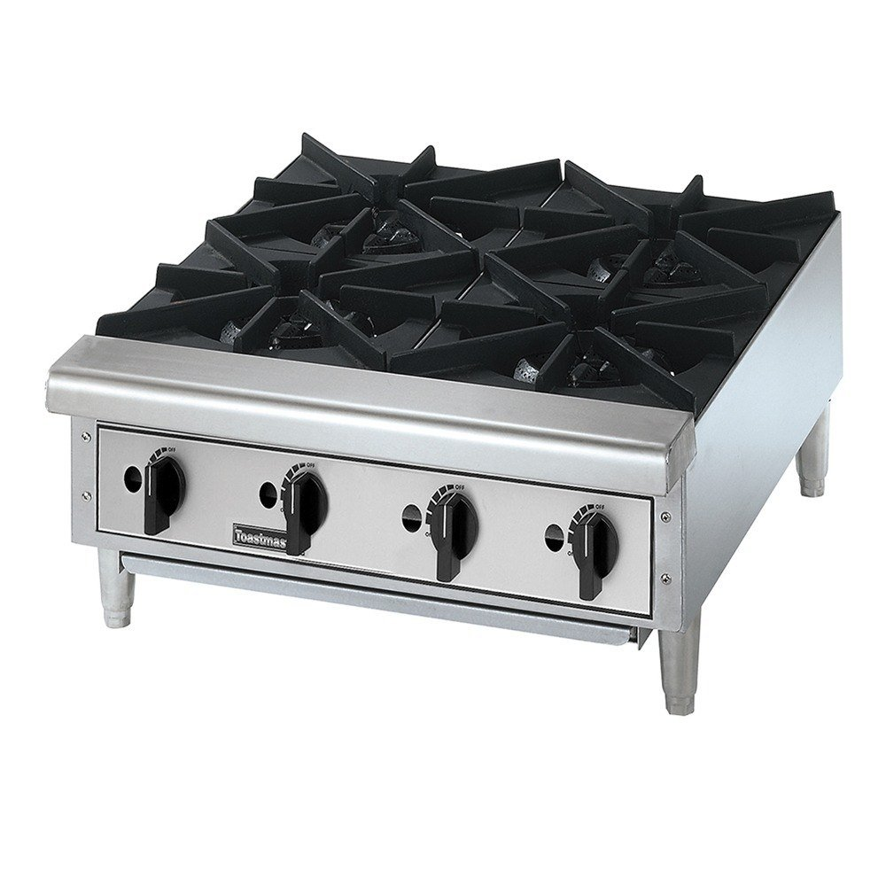 Amazon.com: Toastmaster TMHP4 Gas 4 Burner Countertop Hot Plate ...