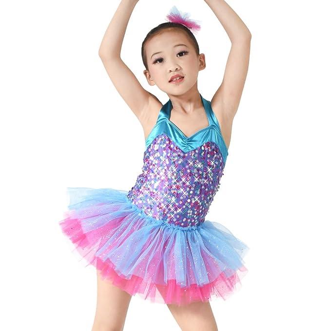 Amazon.com: midee Lovely de la Niña Ballet Tutu Danza ...
