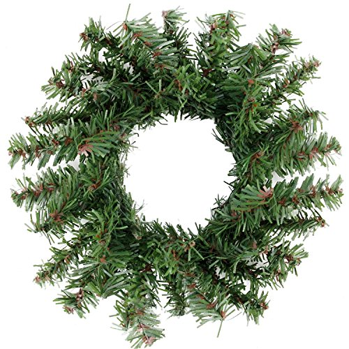 "Northlight 5"" Mini Pine Artificial Christmas Wreath - Unlit"