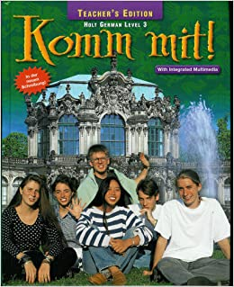 0030397677 Holt German Komm Mit ! Level 1 Teaching Resources Tests on CD ROM) 06, 03 no bks