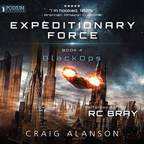 Black Ops: Expeditionary Force, Book 4 cover