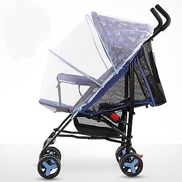 ZGP &Cochecito de bebé Carrito de bebé Ultraligero y pequeño portátil de Verano Fácil de Sentarse