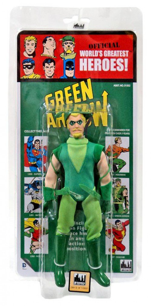 DC Comics Retro Kresge Style Action Figures Series 2: Green ...