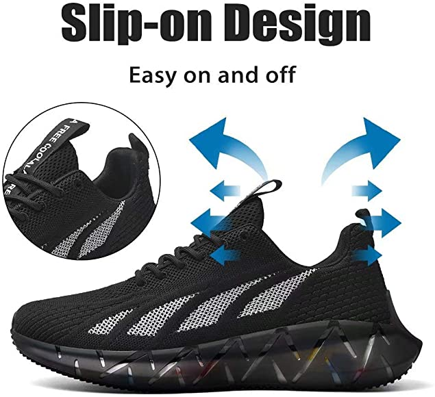 XIDISO Zapatillas de Deporte Hombre Zapatos Zapato Deportivo para Caminar Informal Running Entrenamiento: Amazon.es: Zapatos y complementos