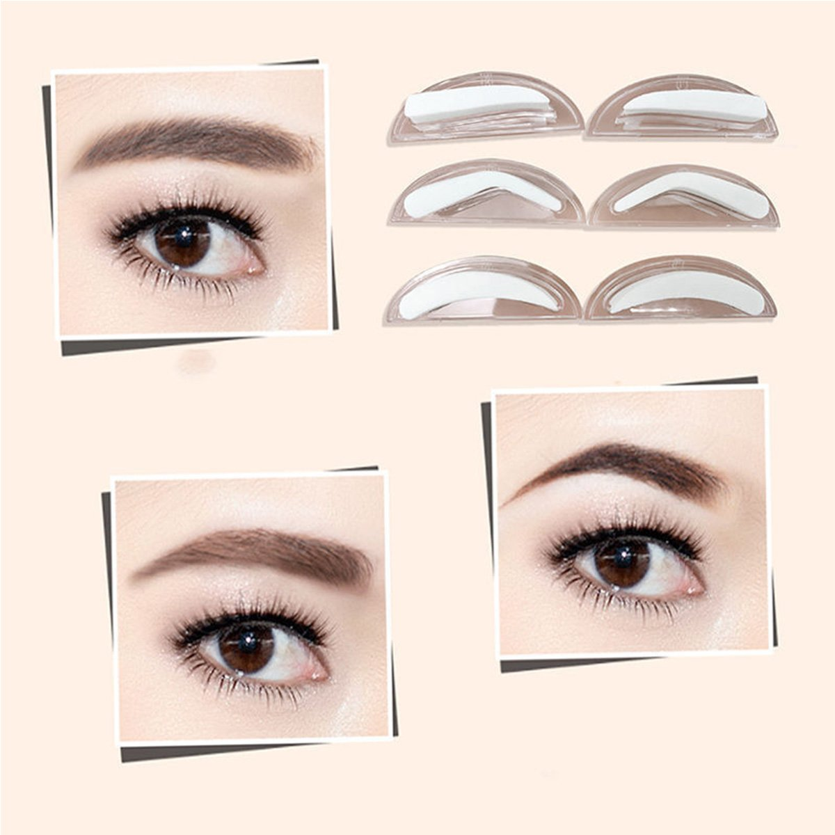 Amazon.com : ONE1X Eyebrow Enhancer Definition Stamp Brow Stamp Only POWDER PALETTE IS NOT INCLUDED : Beauty