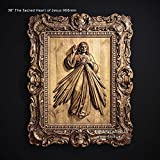 19'' or 38'' The Sacred Heart of Jesus 483 or 966mm Wood Carved 3D icon catholic picture-frame