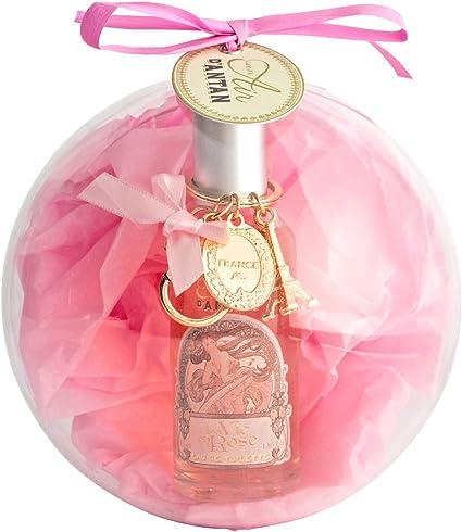 Caja Belleza en Bola de Arbol de Navidad,1 Eau de Toilette de Mujer Rose y