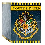 Unique Harry Potter Party Invitations, 8 Count