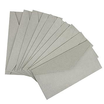 10st Briefumschlag Din Lang Selbstklebender Umschlag Ohne Fenster