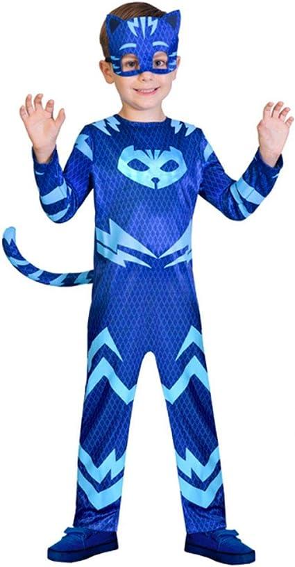 amscan 9902951, PJ Masks YOYO-Gatuno, Disfraz, Color Azul, 2/3 años