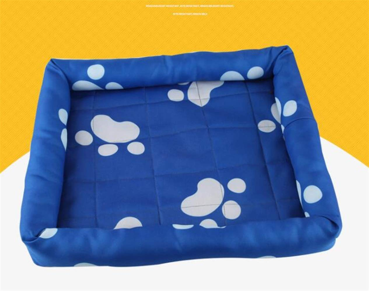 CFHJN HOME Water Resistant Dog Crate Bed for Summer(bluee,L) Pet Bed Blanket