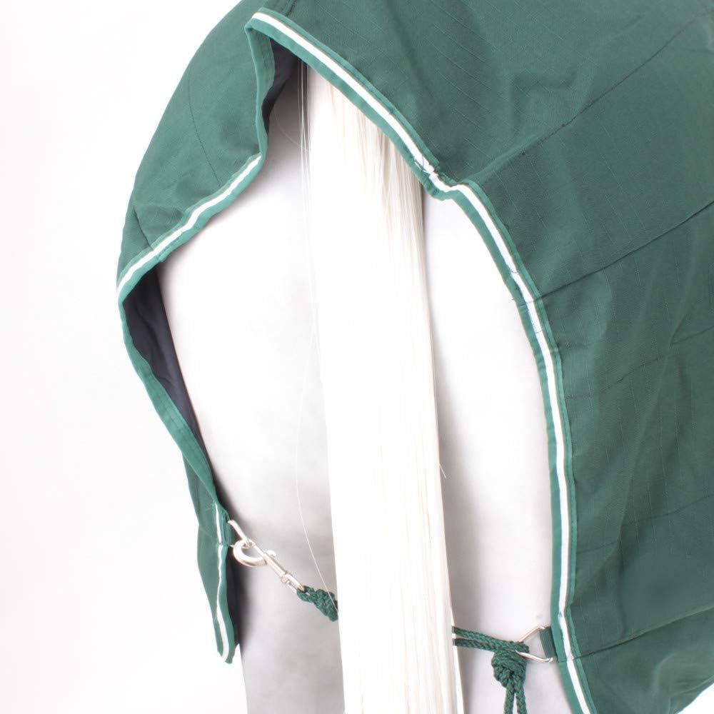 Hunter Green//Green /& White Piping, Rambo Stable Sheet Horseware