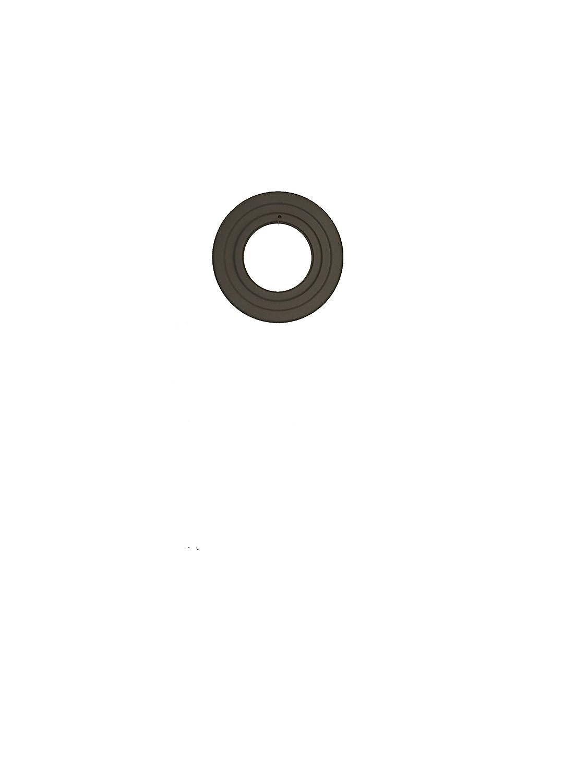 LANZZAS Pellet Pelletrauchrohr Pelletofenrohr Pelletkaminrohr Rosette Rand 70 mm Farbe grau Ø 80 mm LANZZAS ®