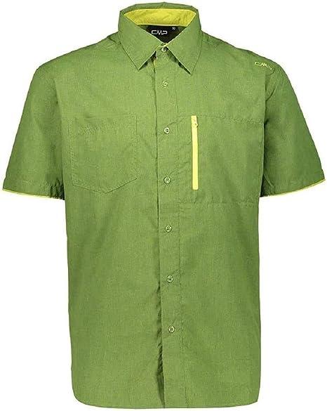 CMP Kurzärmeliges Melange-hemd Camisa, Hombre