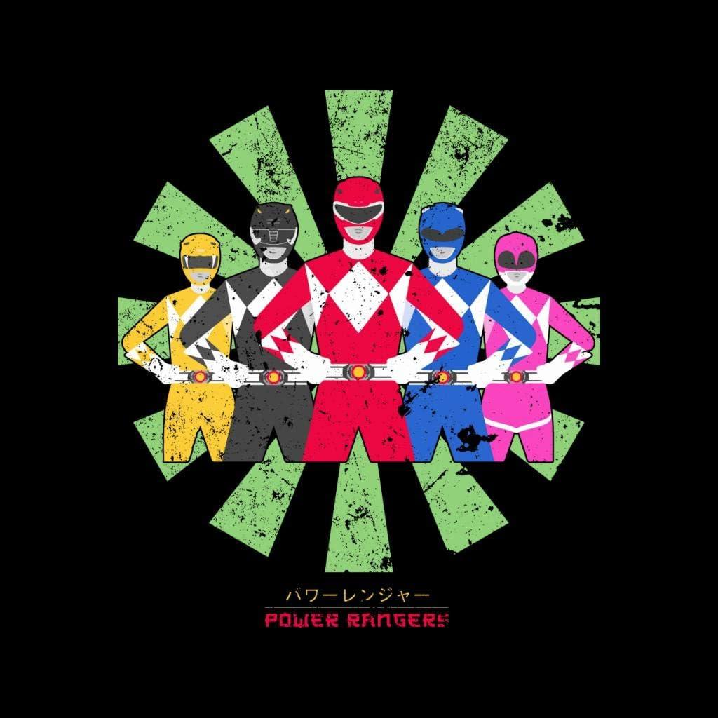 Power Rangers Retro Japanese Kids T-Shirt