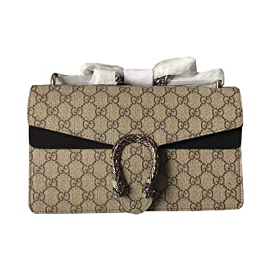 753ce14f3956 Image Unavailable. Image not available for. Color: Women's Dionysus GG  small shoulder bag Mini Bag (Beige/Grey Black)