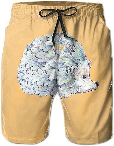 YOIGNG Boardshorts Vegetable Hedge Mens Quick Dry Swim Trunks Beach Shorts