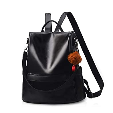 7da1ba2d9a NICOLE & DORIS Backpack Womens fashion rucksack faux leather Waterproof  college daypack shoulder bag for ladies large capacity anti-theft