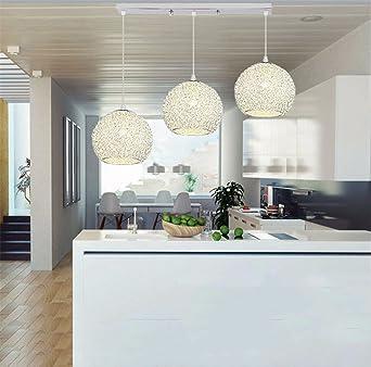 XQK Modernes, minimalistisches Kronleuchter aus Aluminium mit ...