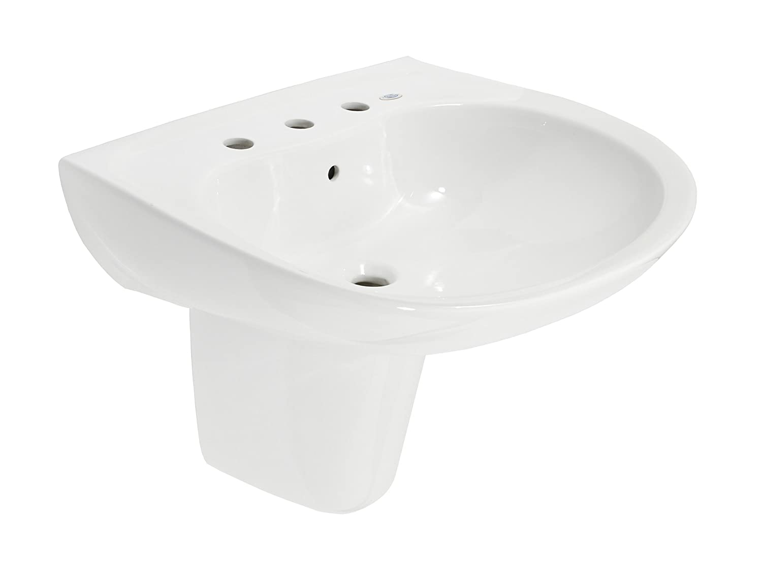 TOTO LHT242G#01 Prominence Lavatory and Shroud with Single Hole ...