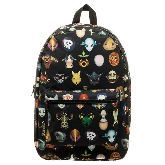 Legend of Zelda Majora s Mask Backpack  Amazon.co.uk  Clothing 1647425a88739