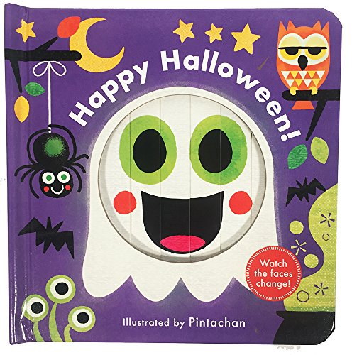 Happy Halloween Book (Happy Halloween! (A Changing Faces)
