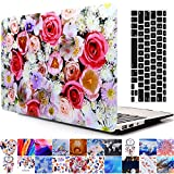2013-2015 Ver MacBook Pro 13'' With Retina Display Case, AICOO YCL 2-in-1 Beautiful Hard Case Cover With Keyboard Skin Protector For Macbook Pro Retina 13.3 inch (A1502 / A1425), Flowers