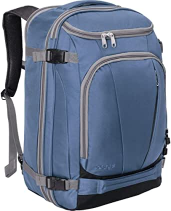 eBags TLS Mother Lode Weekender Convertible Carry-On Travel Backpack - Fits 19 Inch Laptop - (Blue Yonder)