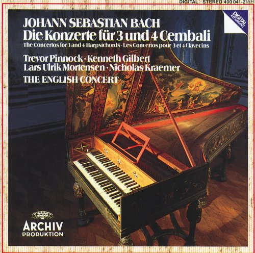 Johann Sebastian Bach: Concertos for 3 and 4 Harpsichords